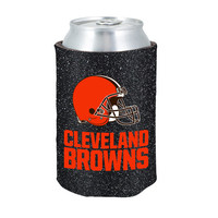 Cleveland Browns Kolder Kaddy Can Holder - Glitter