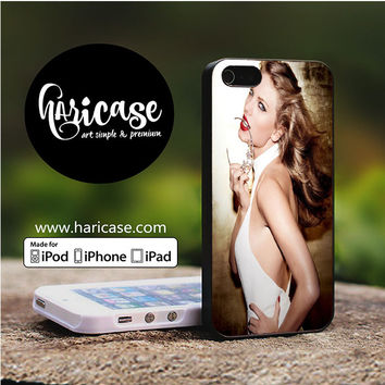 Taylor Swift Photo Crown iPhone 5 | 5S | SE Cases haricase.com