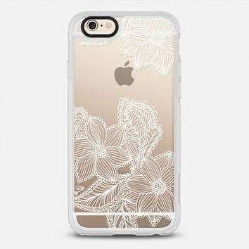 sweet white flowers iPhone 6s Plus case by Julia Grifol Diseñadora Modas-grafica | Casetify