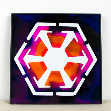 Star Wars Art: The Symbol of the Sith