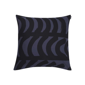 RAUTASANKY PILLOW COVER DARK GREY/BLACK