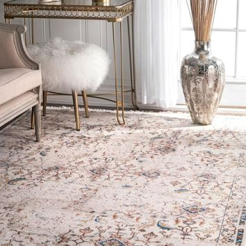 nuLOOM Doloris Faded Fringe Area Rug