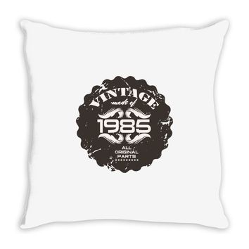 vintage made of 1985 all original parts Throw Pillow