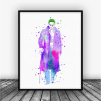 Suicide Squad The Joker Art Print Poster