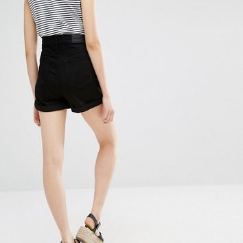 Monki Denim Shorts at asos.com