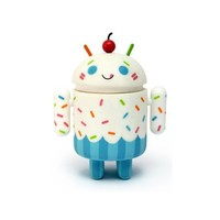 Android Mini Collectible Series 02 Vanilla Cupcake 1/16 Ratio Vinyl Toy Robot Figure