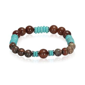 BodyJ4You Bracelet Healing Natural Stone Power Crystal Stretch Beaded Jewelry
