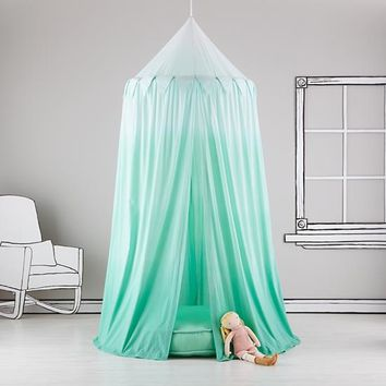 Home Sweet Play Home Canopy (Green Ombre)