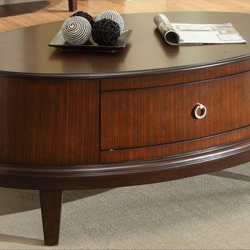He-3469-30 Ocala Collection Oval Cocktail Table