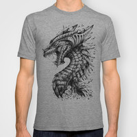 Dragon's Outrage T-shirt by René Campbell