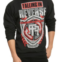 Falling In Reverse Fashionably Late Crew Pullover