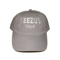 Yeezus Grey Dad Cap