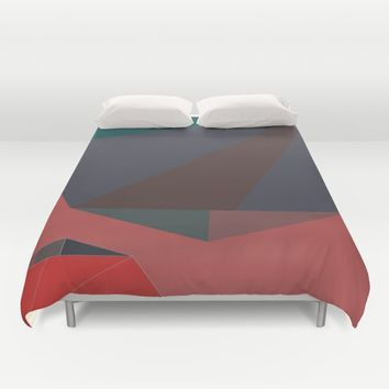 Shape Play 2 Duvet Cover by Ducky B