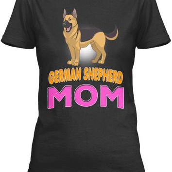 German Shepherd Funny Dog Mom
