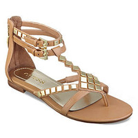 GUESS Women's Shoes, Rolan Flat Thong Sandals - Shoes - Macy's
