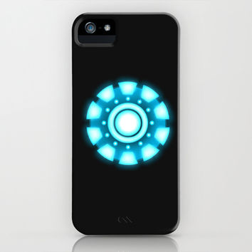 Arc Reactor [Iron Man] iPhone & iPod Case by Moon-DaZzLe