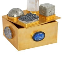 MIXED PYRITE BAUBLE BOX - Kelly Wearstler