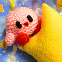 Mini Kirby Amigurumi Plush