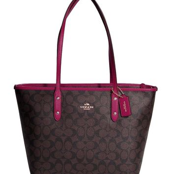Coach Hudson BAG in Smooth Leather, F71561, MAHOGANY