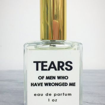 Tears of Men Who Have Wronged Me Perfume in Decorative Glass Spray Bottle (FREE U.S. SHIPPING)