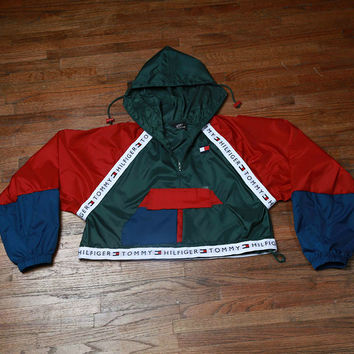 Reconstructed Tommy Hilfiger Windbreaker