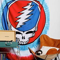 Grateful Dead Skull Tapestry- Blue Multi One