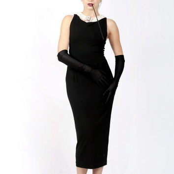 Black Dress Costume Set from Audrey Hepburn Breakfast at Tiffany's