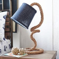 Rope Complete Lamp | Pottery Barn Kids