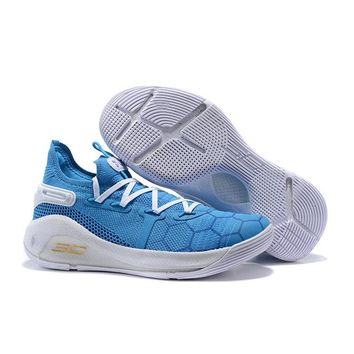 "Under Armour UA Curry 6 ""White Blue"" - Best Deal Online"