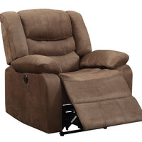 Power Recliner in Cosmo Chocolate