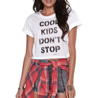 Workshop Cool Kids Cropped Tee at PacSun.com