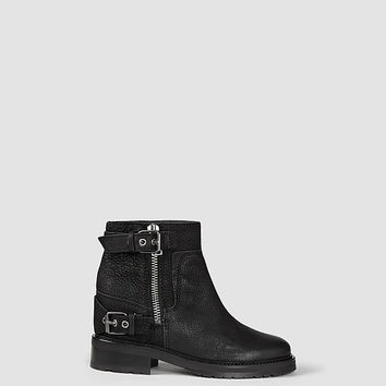 Womens Rama Low Boot (Black) | ALLSAINTS.com