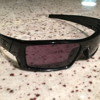 Oakley GASCAN Sunglasses Polished black frame