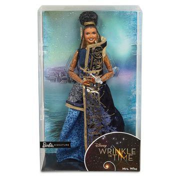 Disney Mrs. Who Doll Live Action Film A Wrinkle in Time Barbie Doll New Box