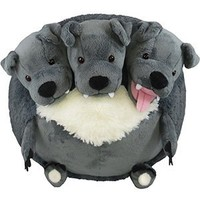 Squishable Cerberus Plush - 15 inch