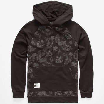 Lira Corona Boys Lightweight Hoodie Black  In Sizes