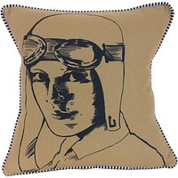 Amelia Earhart Pillow