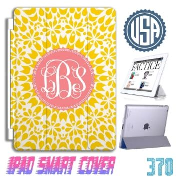 Monogram iPad Air 2 case iPad mini 3 case iPad 4 Smart cover apple