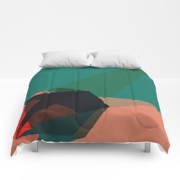 Shape Play 1 Comforters by DuckyB