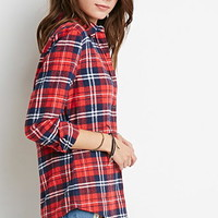 Classic Plaid Flannel Shirt