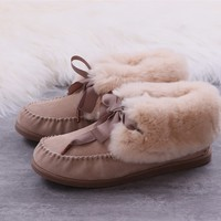 Ugg winter women's boots pink shoes
