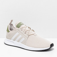 adidas Xplorer Light Brown, Green & White Shoes | Zumiez