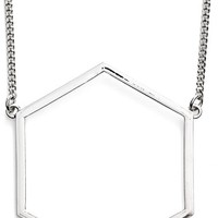 Women's MARC BY MARC JACOBS 'Lost & Found' Geometric Pendant Necklace