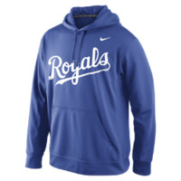Nike Performance Pullover 1.4 (MLB Royals) Men's Training Hoodie Size Small (Blue)