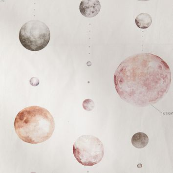 Watercolor Lunar Chart Tapestry | Urban Outfitters