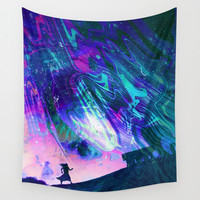 Edge of Earth Wall Tapestry by J.Lauren