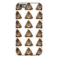 poop emoji iPhone Plus 6 Tough Case