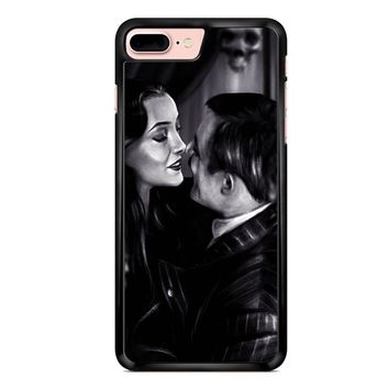 Morticia And Gomez The Addams Family iPhone 7 Plus Case