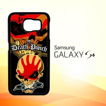 five finger death punch Z3324 Samsung Galaxy S6 Case