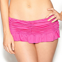 Betsey Johnson Love Always Skirtini Bottom - Pink